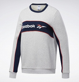 Свитшот Classics Linear Fleece Crew Reebok фото