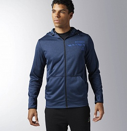 ХУДИ WORKOUT READY ELITAGE GROUP FULL ZIP фото